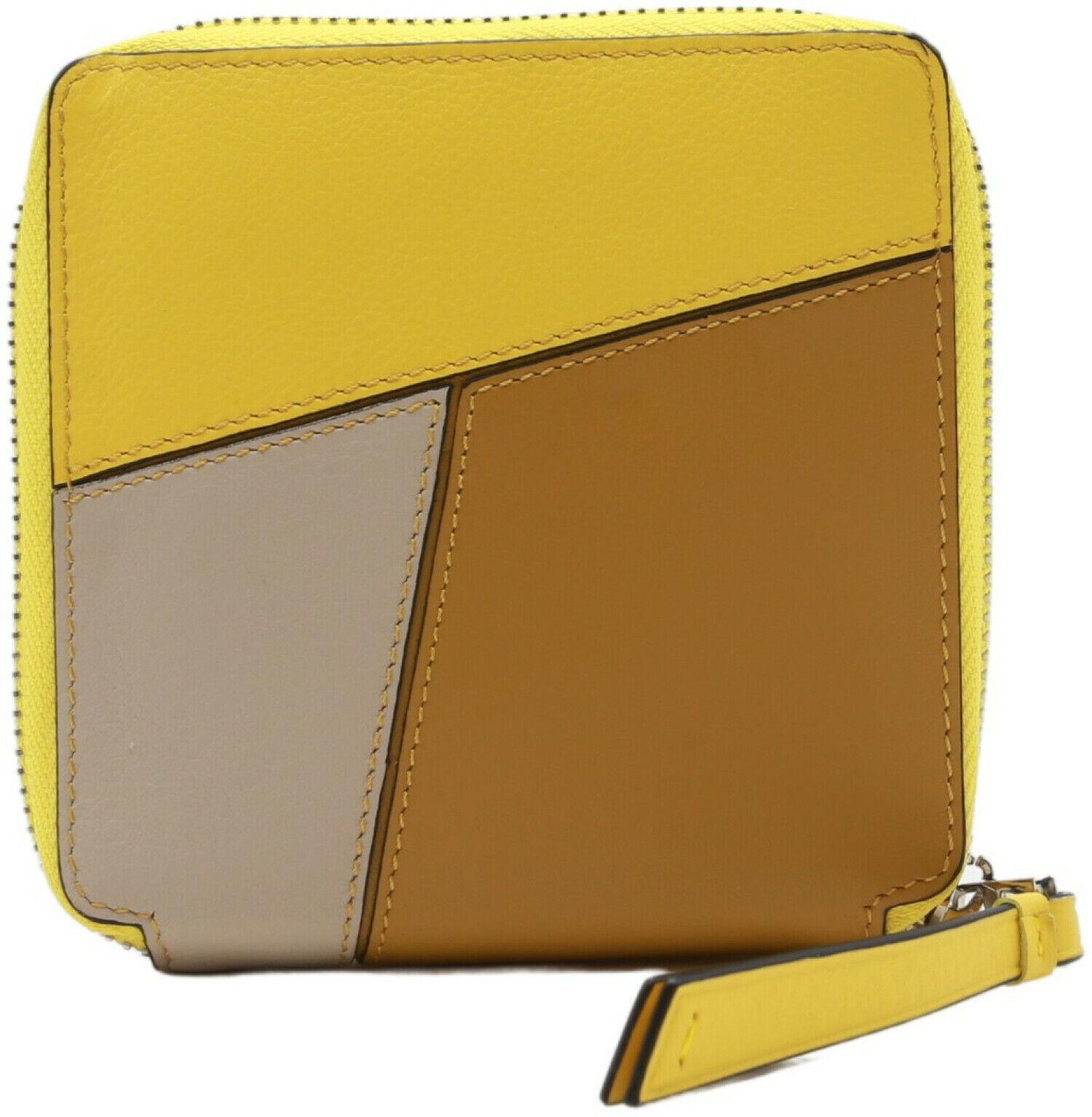 Loewe Women's Puzzle Square Zip Leather Wallet