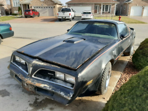 1978 Trans am ( two cars one price)