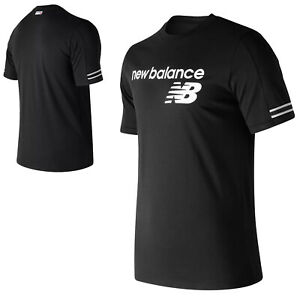 Details about New Balance Mens Athletic Heritage T-Shirt Short Sleeve Round Crew Classic Gym