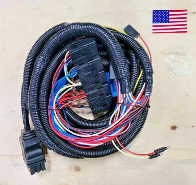 MSC08001 Am Replacement Boss 13 Pin 5 Relay Truck Side Main Wiring Harness  for sale online | eBayeBay