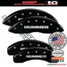 Mgp Caliper Brake Cover Black 52002shumbk Front Rear For Hummer H2 2008 2009