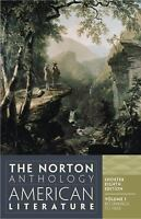 The Norton Anthology of American Literature Vol. 1 (2012, Paperback)