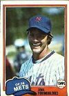 1981 Topps Joel Youngblood #58 Baseball Card