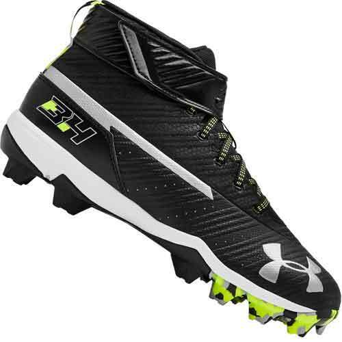 New In Box Men/'s Under Armour UA Bryce Harper 3 Mid RM Baseball Cleats Size 7.5