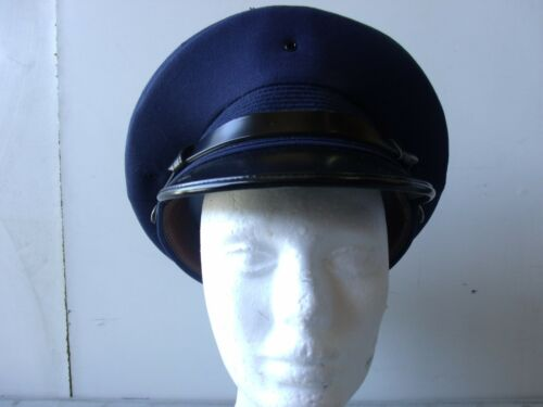 A938 Air Force Service Mans round hat Size 7 3//8  Bancroft Cap Co