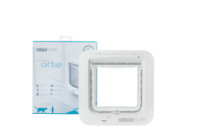 GENUINE-SureFlap-Microchip-Cat-Flap-White-And-Accessories