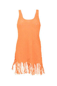 L-039-Agent-By-Agent-Provocateur-Womens-Karrie-Dress-Skinny-Orange-Size-S