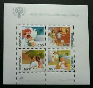 SJ-Portugal-International-Year-Of-The-Child-1979-Play-Book-ms-MNH-see-scan