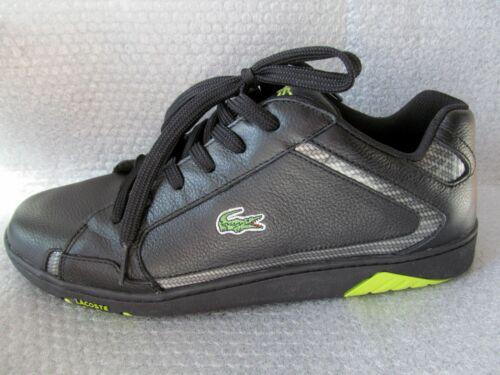 Sneakers Lace Lacoste 882863813979 12 nere Regan taglia Nwb 6q6BOrn7