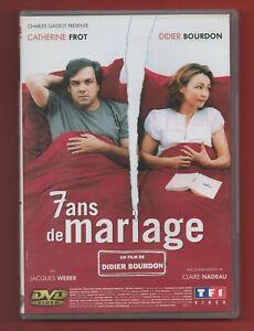 DVD - 7 ans de mariage avec Catherine Frot et Didier Bourdon
