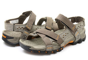 5b0ba12a1c99 NEW! TIMBERLAND MEN S ELRIDGE LEATHER PEWTER SPORT SANDALS 5824A ...
