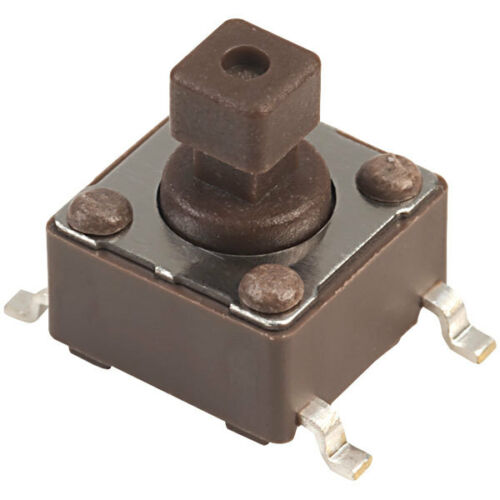 Diptronics DTSM 644n Square Button SMD 6 x 6 mm Tactile Switch 160gf