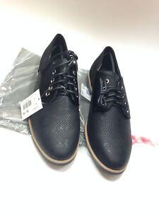 Detalles de Zapatos de Mujer Cache Negro Talla 39