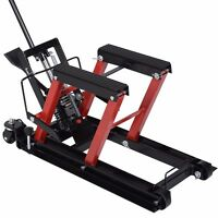 Motorcycle Atv Jack Lift Stand Quad Dirt Street Bike Hoist 1500 Lbs on sale