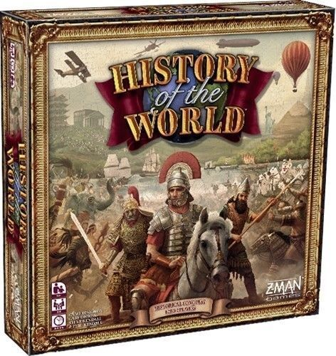History of the World Board Game 2018 edition by Z-Man Games  - New and Sealed