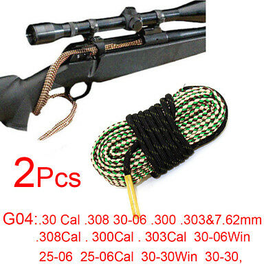 Dog /& Field Bore Cleaner .25-06 /& .270 Rifle Snake