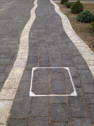 300 X 300 X 68mm DS-Line-80 Aluminium Double Sealed Recessed Manhole Cover