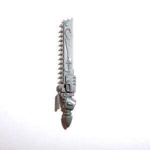 Acheter Pas Cher Blood Angels Tactical Squad Chainsword-g308-afficher Le Titre D'origine