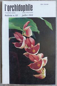 L-039-Orchidophile-Bulletin-N-52-Juillet-1982