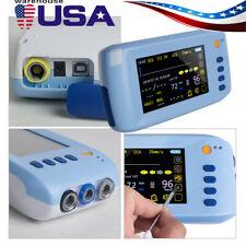 Handheld 6 Parameter Vital Sign Monitor Patient Monitor Ecg Nibp Spo2 Pr Temp Us