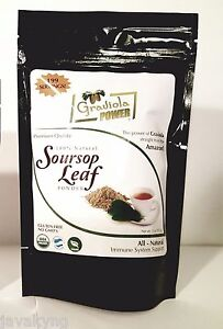 Soursop-Leaf-Tea-Powder-USDA-Organic-Annona-Muricata-199-Servings-Guanabana