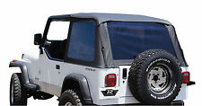 Bowless Black Diamond Frameless Top 109435 1992 1995 Soft Top For Jeep Wrangler Fits 1994 Jeep Wrangler