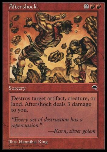 AFTERSHOCK Magic TMP Mint CONTRACCOLPO