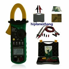 Small Current 2mA-4A 4A-200A Harmonic Power Clamp Meter Tester True RMS 2208