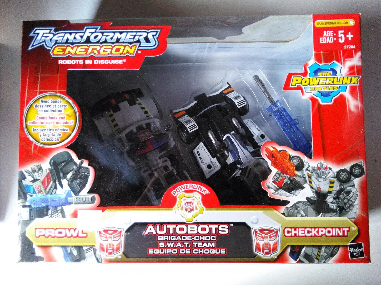 Transformers Energon acecho & Checkpoint Swat equipo ex Nuevo Envío Gratis EE. UU.