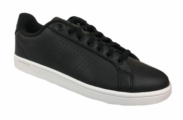 Mens Adidas CF Advantage Black White B74264