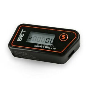 CONTAORE WIRELESS MOTORE GET RESETTABILE PARZIALE TOTALE HOUR METER SENZA FILI