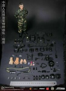 Helmet /& Accessories for DAM 78048 People's Liberation Army Special Forces 1//6