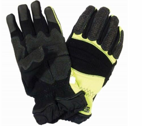 Shelby 2500 Xtrication Mens Extraction /& Rescue Gloves  Hi Vis Kevlar Reinforced