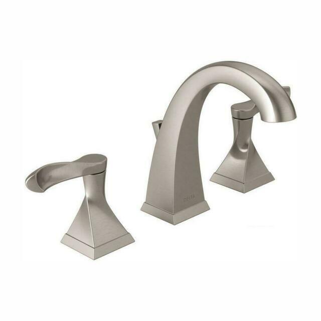 Delta Everly 8 Inch Widespread 2 Handle, Bathroom Faucets 8 Inch Spread