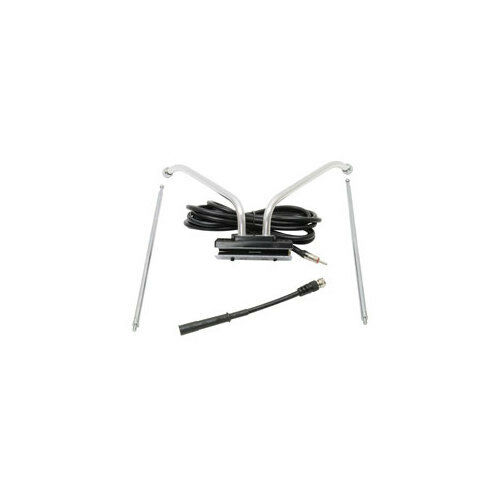 ROADPRO RPTVWMA  WINDOW MOUNTED TV AM FM TELESCOPING ANTENNA WITH COAX CABLE ...
