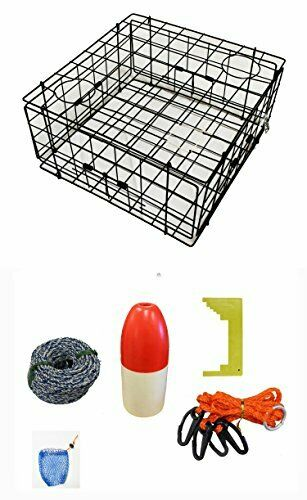 KUFA Vinyl Coated crab trap & accessory kit (S60+CAS1)