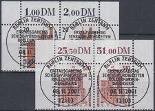 BRD/Bund 2224-25 im oberrand Paar gestempelt ESST Berlin (P-802)