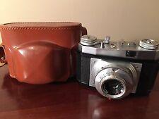Vintage FOINIX Camera GERMANY Foinar Trier AR Lens 1:2 8/45 w/ Original Case