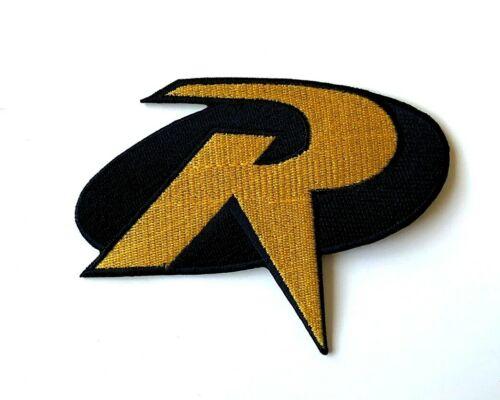 Robin R Batman Superhero Movies Embroidered Iron On Patch Sew On Badge