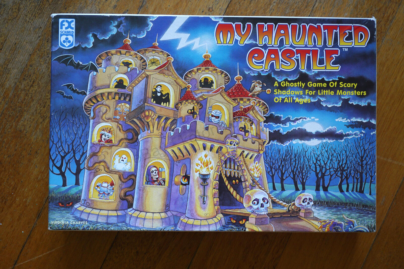 My Haunted Castle Board Game 1997 100% COMPLETE