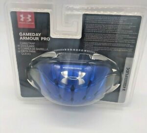Under Armour Gameday Armour Pro Mens Chin Strap Blue $25