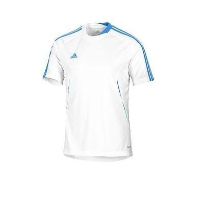adidas Predator UEFA CL ClimaLite Soccer Jersey Brand New White / Sky Blue | eBay