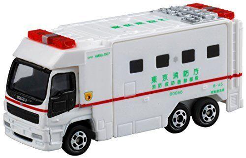 Tomica ‡'116 Super Ambulance (box) Miniature Car Takara Tomy