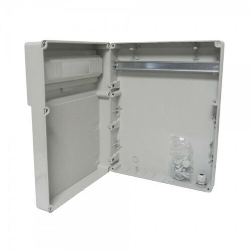 Caja de 19-mod ap carcasa vacía ip65 GR doctor voltios 9603