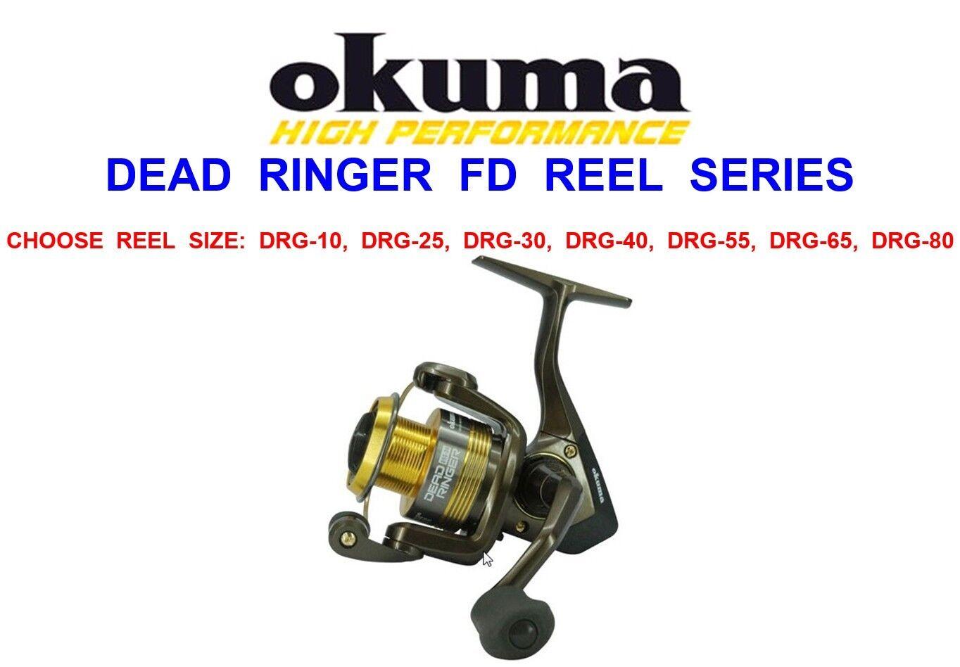 DRG-40 DRG-25 DRG-30 Okuma carbontex drag DEAD RINGER DRG-10