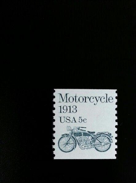 1983 5c Motorcycle, Coil Scott 1899 Mint F/VF NH