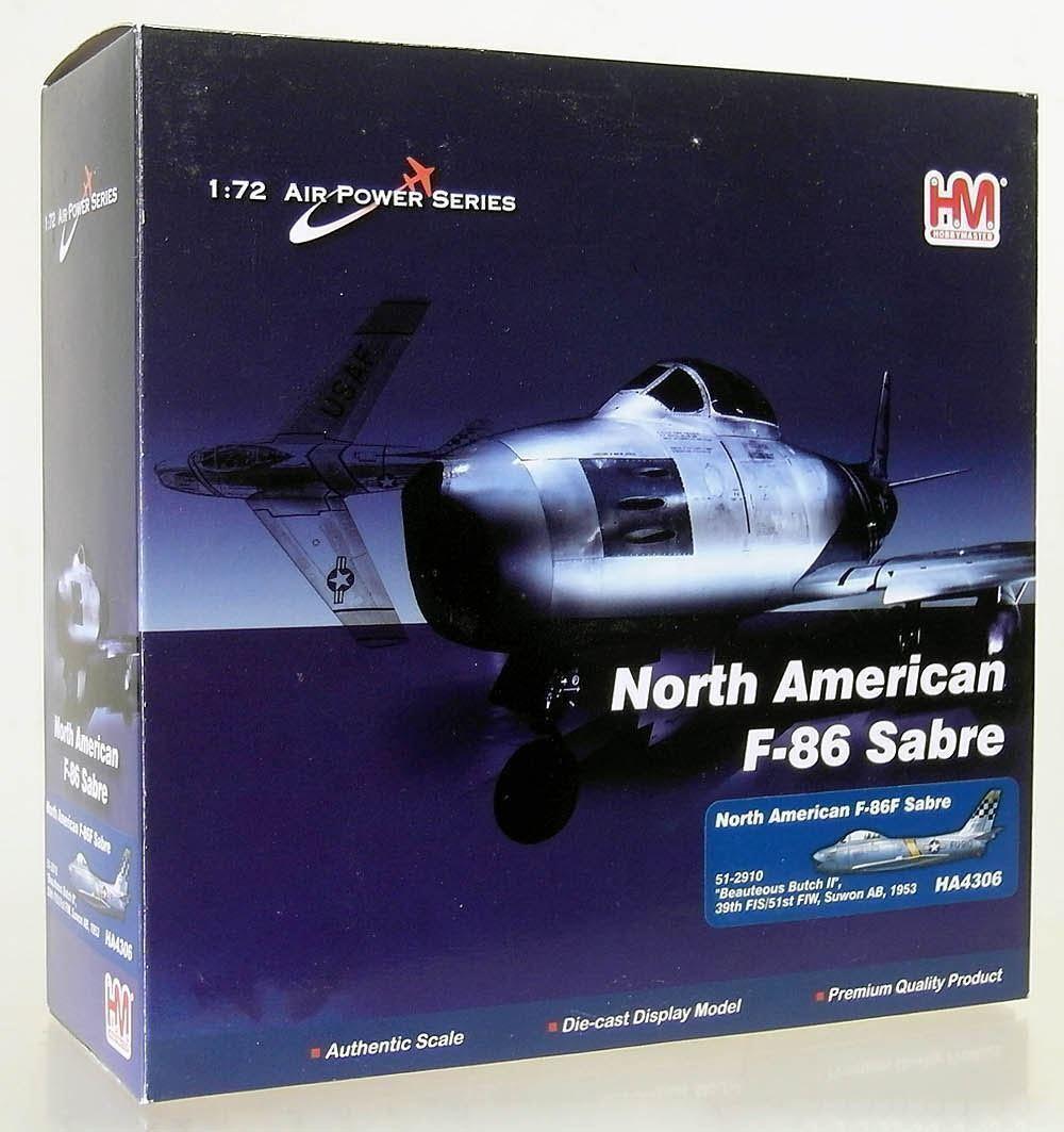 FZ222   HobbyMaster 1 72 HA4306 - F-86F Sabre Korea Suwon AB 1953 NEU