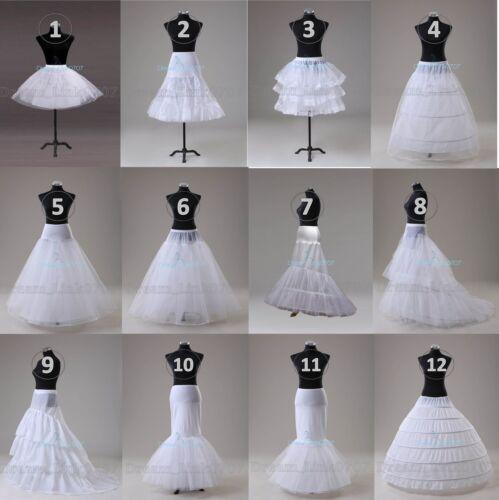 NEW Wedding Prom Crinoline Underskirt Hoop Hoopless Mermaid Fishtail Crinoline