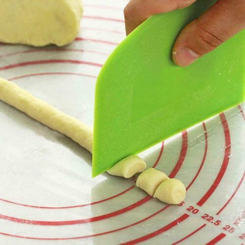 Cream Spatula DIY Pastry Cutters Fondant Dough Scraper Cake Cutter Baking Tool @