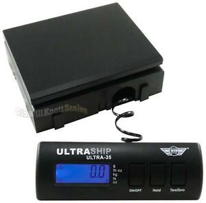 My-Weigh-UltraShip-35-Digital-Scale-noAC-noSS-Postal-Shipping-Postage-Bench